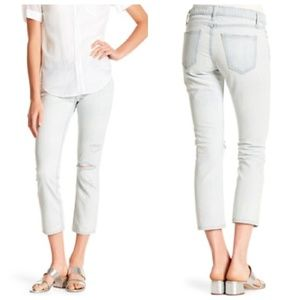 Current/Elliott NWT The Cropped Straight Jeans